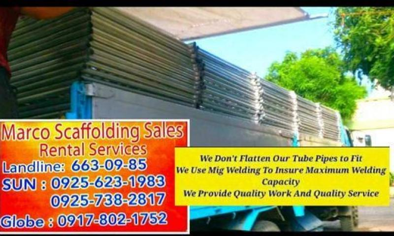 Scaffoldings for Rent
