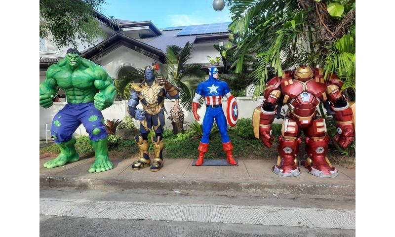 AVENGERS LIFESIZE STATUE FOR RENT/ SALE FOR YOUR EVENTS